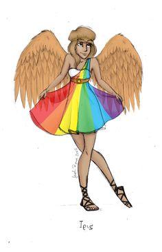 Greek Goddess: Iris by ~JadeAriel on deviantART