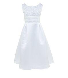 d933db51205 First Communion · Jayne Copeland Big Girls 7-16 Ribbon Satin Dress Satin  Dresses