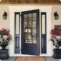 Image result for 4 panel glass front door
