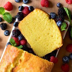 Ricotta Pound Cake with Vanilla Bean Cake Cookies, Cupcake Cakes, Cupcakes, Ricotta Pound Cake, Sweet Potato Pound Cake, Baking Recipes, Dessert Recipes, Pound Cake Recipes, Pound Cakes