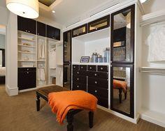 Contemporary Closet Bathroom Tile Design, Pictures, Remodel, Decor and Ideas