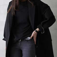 """""""All Black outfit is always perfect for Thursday  Pic via Pinterest"""""""