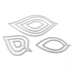 3 Sets Frame Cutting Die Metal Template Frame Paper Cards Cutting Dies Cut Stencils Nested Stitched Frame Cutting Dies Embossing Dies Template for DIY Carding Making Scrapbooking Supplies