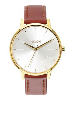 Kensington Leather - Gold / White / Black | Nixon Neo Preen
