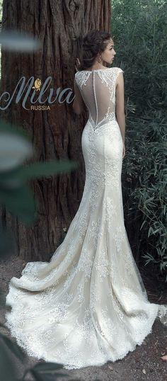 Milva Bridal Wedding Dresses 2017 Albena2 / http://www.deerpearlflowers.com/milva-wedding-dresses/8/
