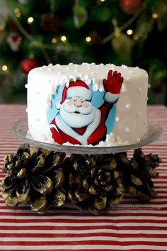 tarta para Santa