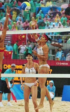 Kerri Walsh, Misty May-Treanor  Beach Volleyball