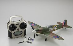New 1/24 Kyosho Spitfire Mk.I Ready Set 10753RS-MK1 From Japan 174 #Kyosho