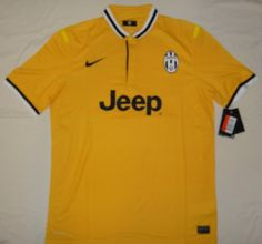 13-14 cheap Juventus Away Yellow Jersey Shirt
