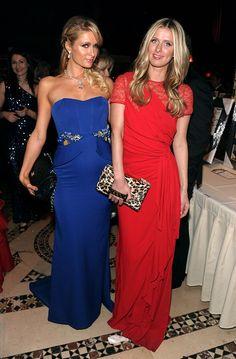 Nicky Hilton's red dress