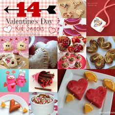Food-a-licious Friday: 14 Valentine's Day Kid Snacks - Mine for the Making