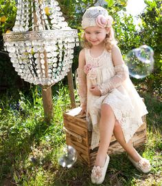 IMAGESvaptistikaGirl2188_2 Girls Dresses, Flower Girl Dresses, Christening, Wedding Dresses, Flowers, Fashion, Moda, Dresses For Girls, Bridal Dresses