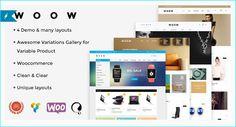 18+ eCommerce WordPress Theme December 2015