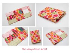 Crayon roll and more - Pattern $7