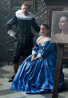 Tulip Fever by Justin Chadwick - 2017 - Alicia Vikander, Christoph Waltz, Dane DeHaan, Holiday Grainger and Judi Dench.