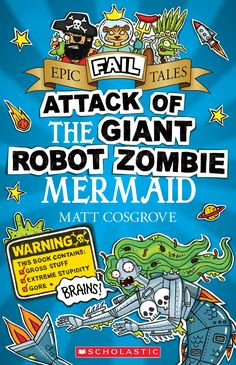 Once upon a slime covered planet, there lived a robot zombie mermaid who would stop at nothing and sacrifice everything in the hilarious intergalactic quest for her one true love–braaaaiiiiinnnnnnnnnnsssssssss.