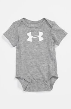 Under Armour Logo Bodysuit (Baby Boys) available at #Nordstrom