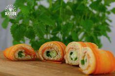 Oczyszczanie dietą dr Dąbrowskiej – dzień 5 (sushi warzywne, kanapki z grillowanej cukinii) Healthy Tips, Healthy Eating, Healthy Recipes, Healthy Food, Veg Recipes, Vegetarian Recipes, Party Finger Foods, Superfood, Catering