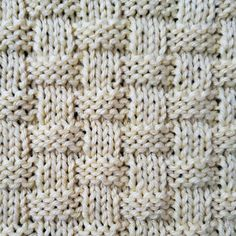 """The Basketweave stitch uses variations of knit and purl techniques to create a design that resembles a basket, hence the name """"basketweave."""" #stitchpattern #knittingpattern #knitstitch #knitting #knittingtutorial Stitch Patterns, Knitting Patterns, Knit Purl Stitches, How To Purl Knit, Knitted Blankets, Basket Weaving, Simple Designs, Projects To Try, Crochet"""
