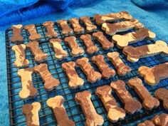 Homemade dog treats, might have to try to make them for our dogs sometime.
