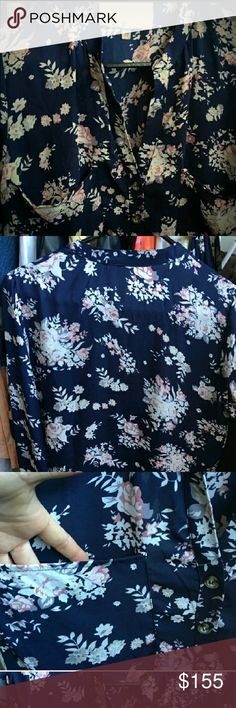 baf263e8b07 West Main 100% Silk Floral Top New retail is over  200 various sizes West  and Main Tops
