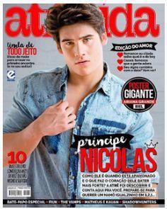 Nicolas Prattes na capa da Atrevida http://www.breaktudo.com/nicolas-prattes-estara-no-danca-dos-famosos-confirmado/