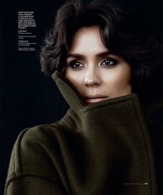 Shannyn Sossamon stars in InStyle Russia's September issue