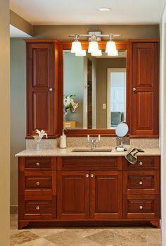 Custom Bathroom Vanities Philadelphia bathroom vanities and cabinets | lenox country linen cabinet