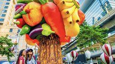 Thailand zeigt sich mit seiner kunstvollen Seite Für die Vorfreude: Ein Einblick ins Land und zu den Menschen in Thailand. Hier alles über Street Art in Thailand. Reisen Graffiti, Dinosaur Stuffed Animal, Animals, Thailand Travel, Japanese Artists, Art Gallery, Mural Painting, Tourism, Animales