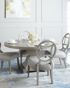 Hampshire Dining Furniture by Bernhardt at Horchow.
