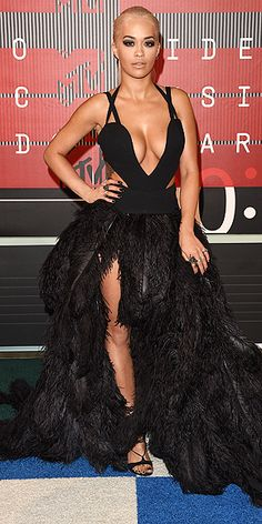 See the MTV VMAs All-Star Arrivals - RITA ORA : People.com