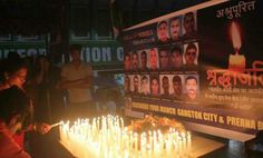 Sikkim Pays Homage to Uri Attack Martyrs   Gangtok Civilians joined hands to pay homepage and Tribute to Bravehearts of Indian Army who laid their life fighting with terrorists at Uri in Jammu & Kashmir on 18 Sep.  A candle light vigil was carried at MG Marg Gangtok this evening.  Pic and News Pappu Mallick