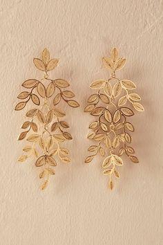 Gold Lasya Earrings   BHLDN