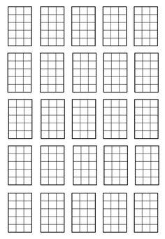 blank chord charts