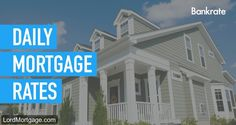 daily mortgage rates and trends