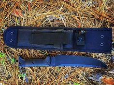Becker Magnum Camping Knife BK5-fixed blade comes with black nylon she,  #beckerknives #bk5 #fixedbladeknife #magnum