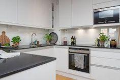 Znalezione obrazy dla zapytania biała kuchnia z mozaiką