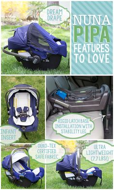 Daily Mom » Car Seat Guide: Nuna PIPA