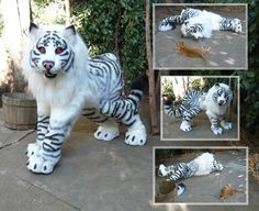 Maned Tiger Quadsuit