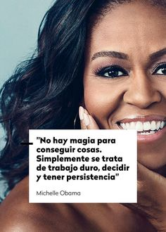 Visit the post for more. Michelle Obama Quotes, Woman Quotes, Me Quotes, Positive Phrases, Feminist Quotes, Motivational Messages, Positive Inspiration, Power Girl, Spanish Quotes