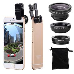 Find More Mobile Phone Lenses Information about 3 in 1 Wide Angle Macro Fisheye Lens Kit with Clip 0.67x Mobile Phone Fish Eye Lens for iPhone 5 5S 6 7 Lens Lentes Mobile Phone,High Quality lens hood canon 18 55,China lens pen cleaning tool Suppliers, Cheap lens nokia from Geek on Aliexpress.com
