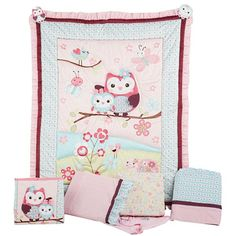 Summer Infant 8 Piece Crib Bedding Set, Who Loves You @tammypawlowitz I think this is the one