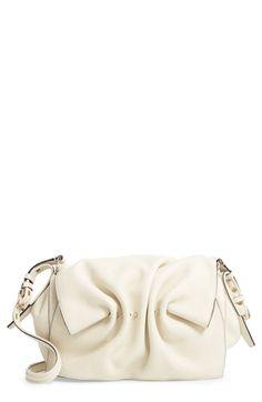 eefaba61213 VALENTINO GARAVANI Bloomy Grained Leather Shoulder Bag Leather Shoulder Bag