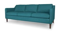 Cherie Ocean Teal Sofa - Sofas & Ottomans - Bryght | Modern, Mid-Century and Scandinavian Furniture