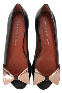 Marc by Marc Jacobs box flats #shoes