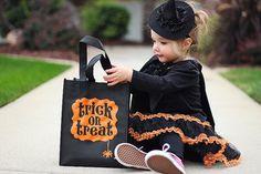 #ChildHalloween #ChildSamhain #TrickOrTreat Bag by seekerofhappiness, $8.00