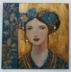 portraits femmes peinture - Recherche Google