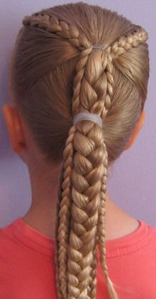 Hairstyle for girls