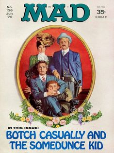 Mad world: See vintage MAD magazine covers, and find out the magazine's history - Click Americana Mad Magazine, Magazine Covers, Alfred E Neuman, Welcome Back Kotter, American Humor, Mad World, You Mad, A Comics, Satire