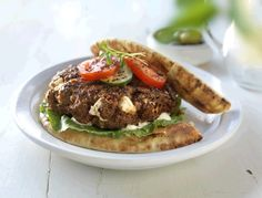 Steak Burgers are packed with more flavour than just what's on top! With fresh ground Round, Chuck or Sirloin from your local grocer, it's easy to make these signature burgers at home. Best Beef Burger Recipe, Hamburger Recipes, Sirloin Roast, Beef Burgers, Minced Onion, Dried Tomatoes, How To Dry Oregano, Picky Eaters, Gluten Free Recipes